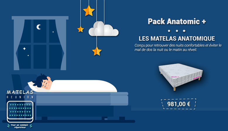 Pack Confort Anatomique 140Cm